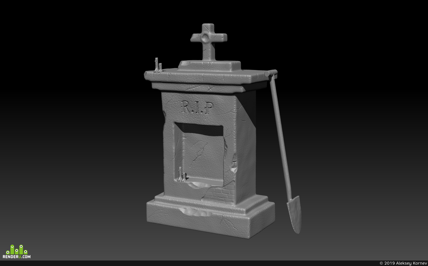 preview Надгробный камень