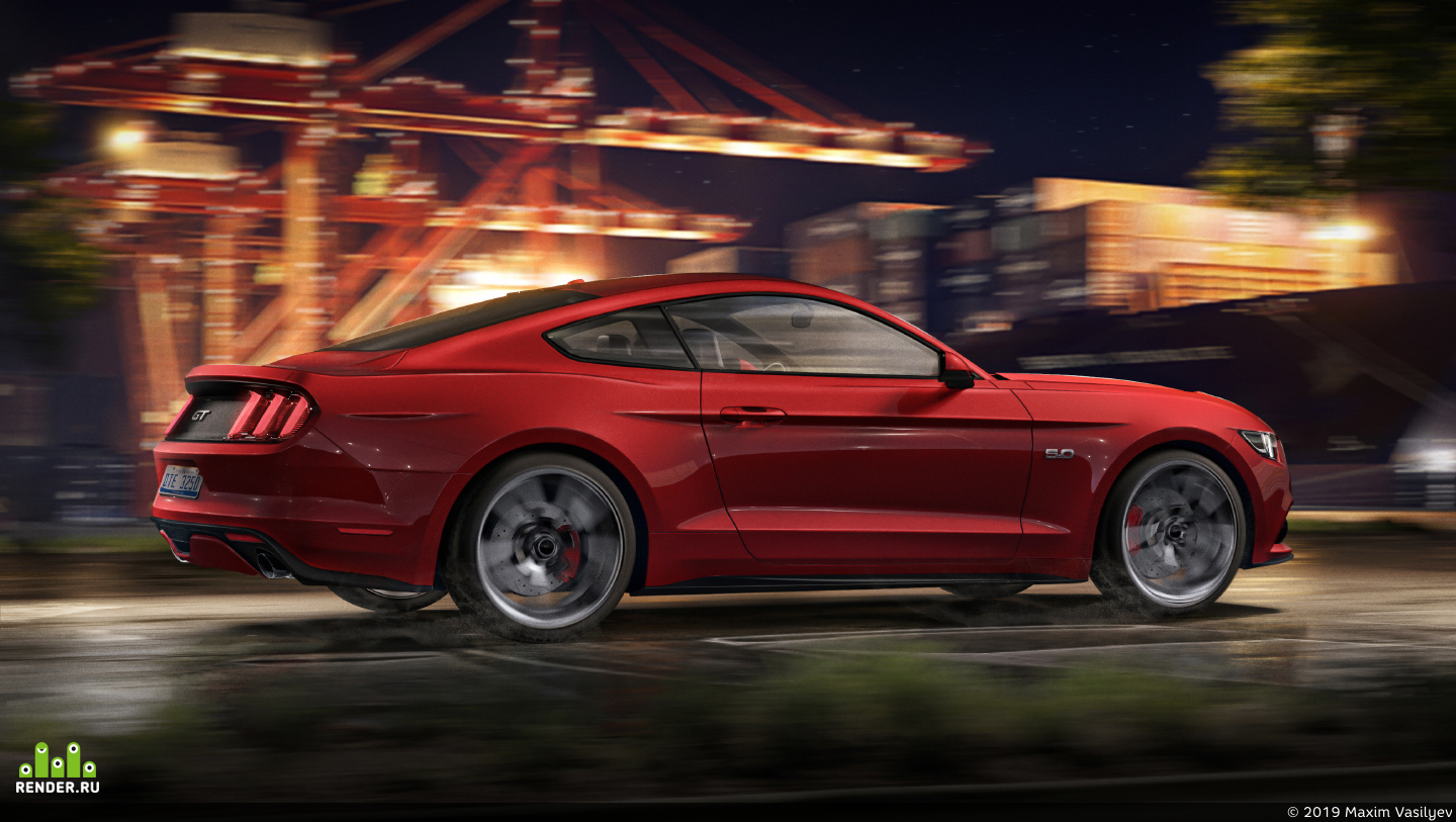 preview Ford Mustang GT | CGI