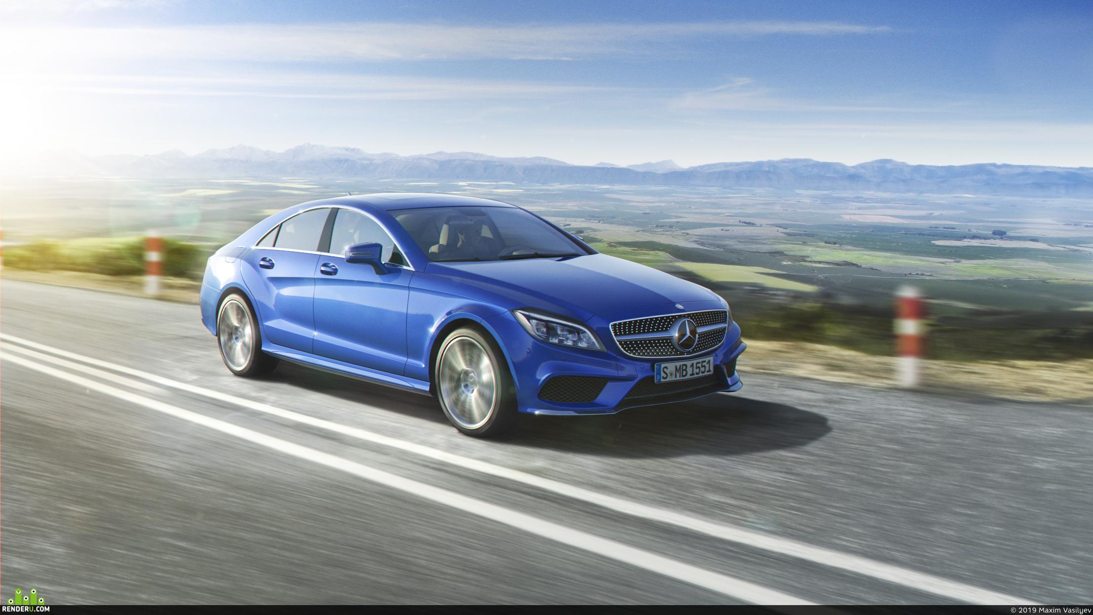 preview Mercedes-Benz CLS | CGI