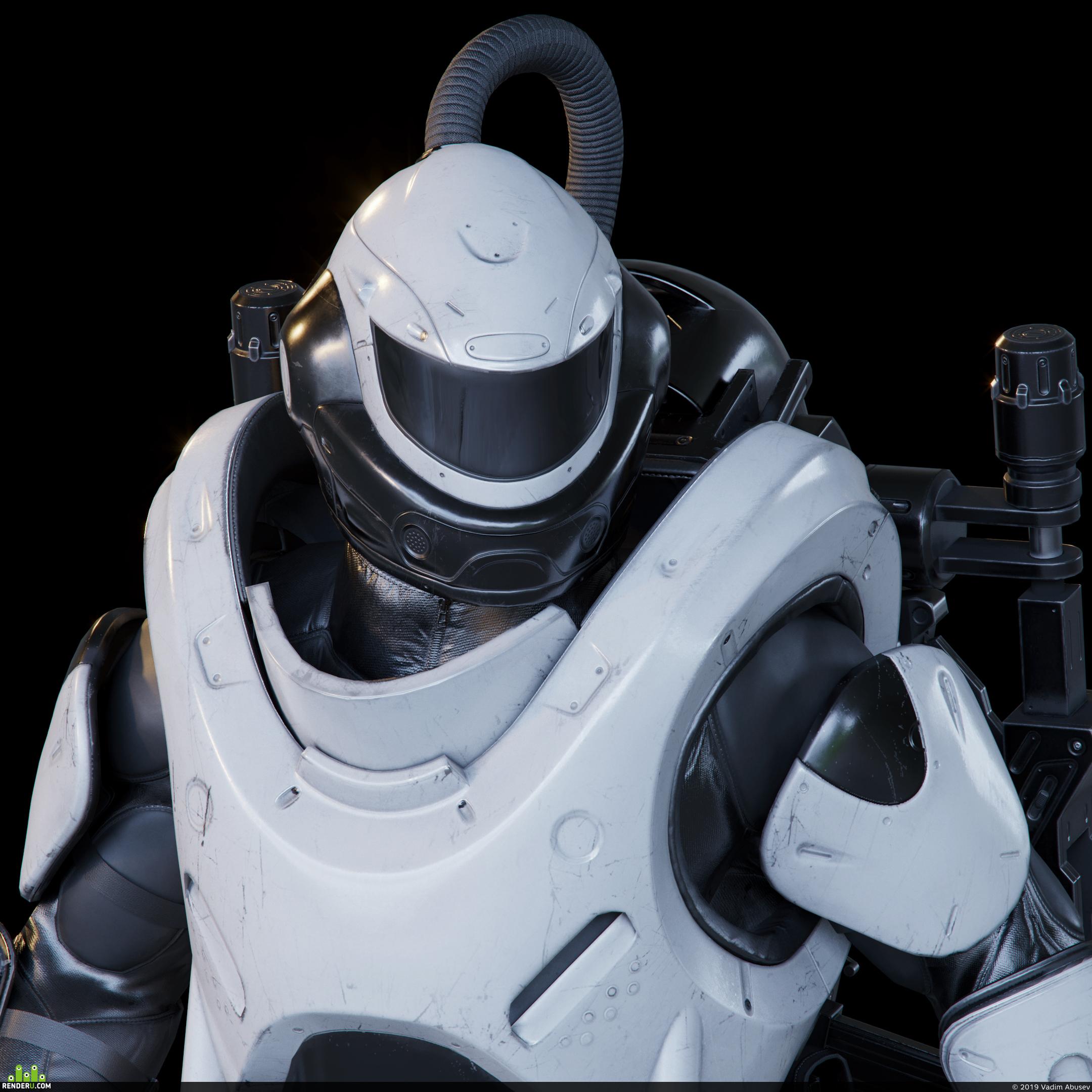 preview Военный экзоскелет Р-20