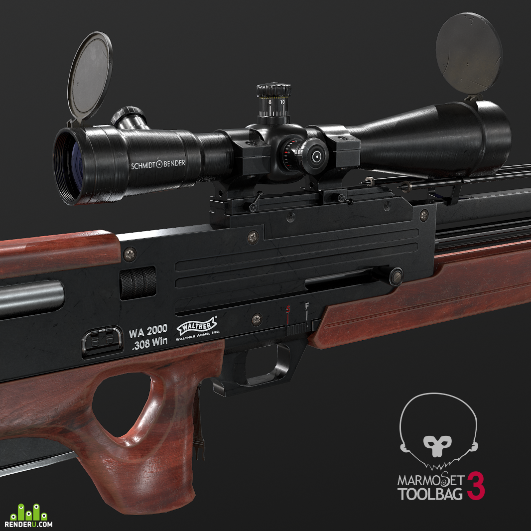 preview Walther WA 2000 (Walther Automat 2000)
