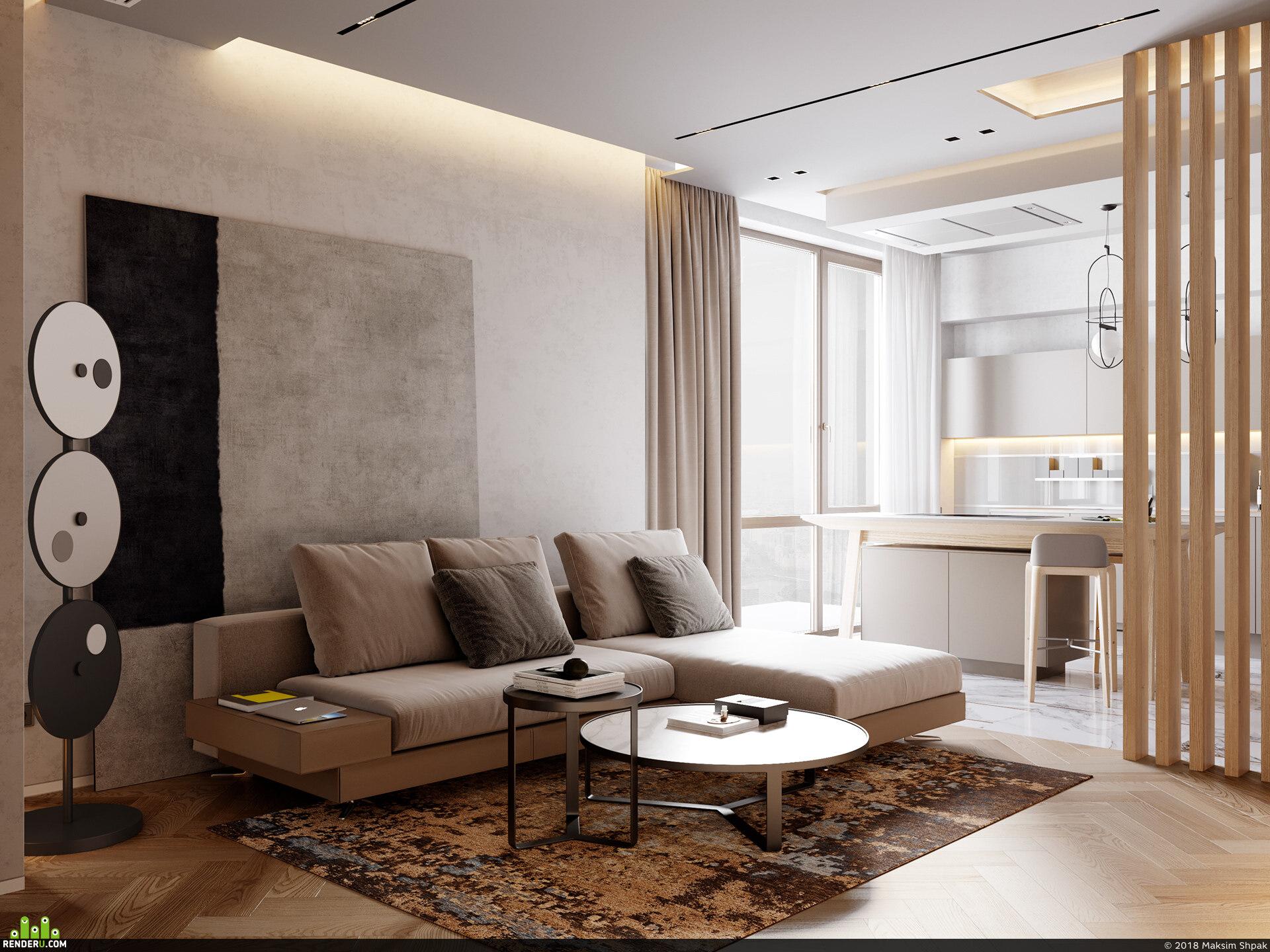 preview DE&DE/The First line apartment