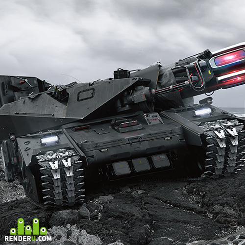 preview EVOLVED SIEGE TANK