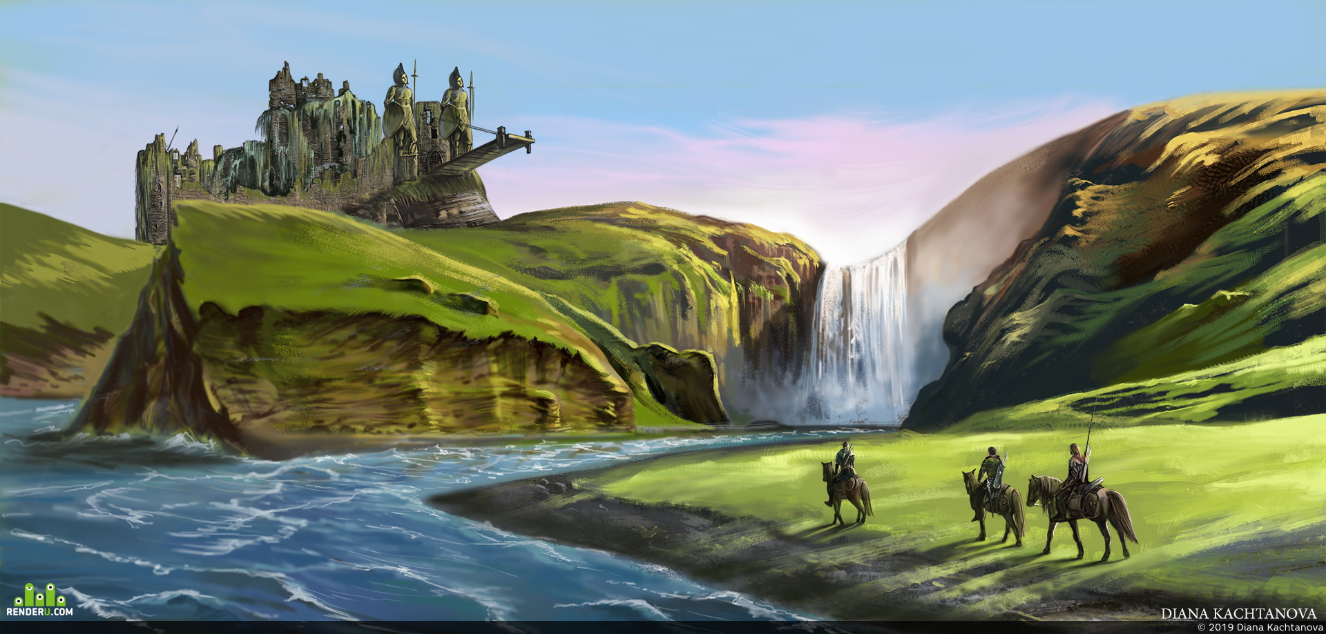 preview Заброшенный замок