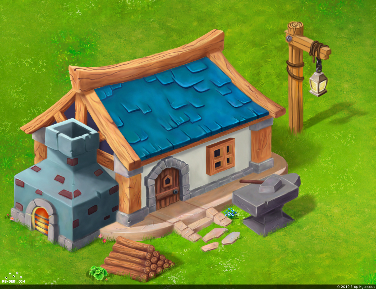 preview The house of a blacksmith