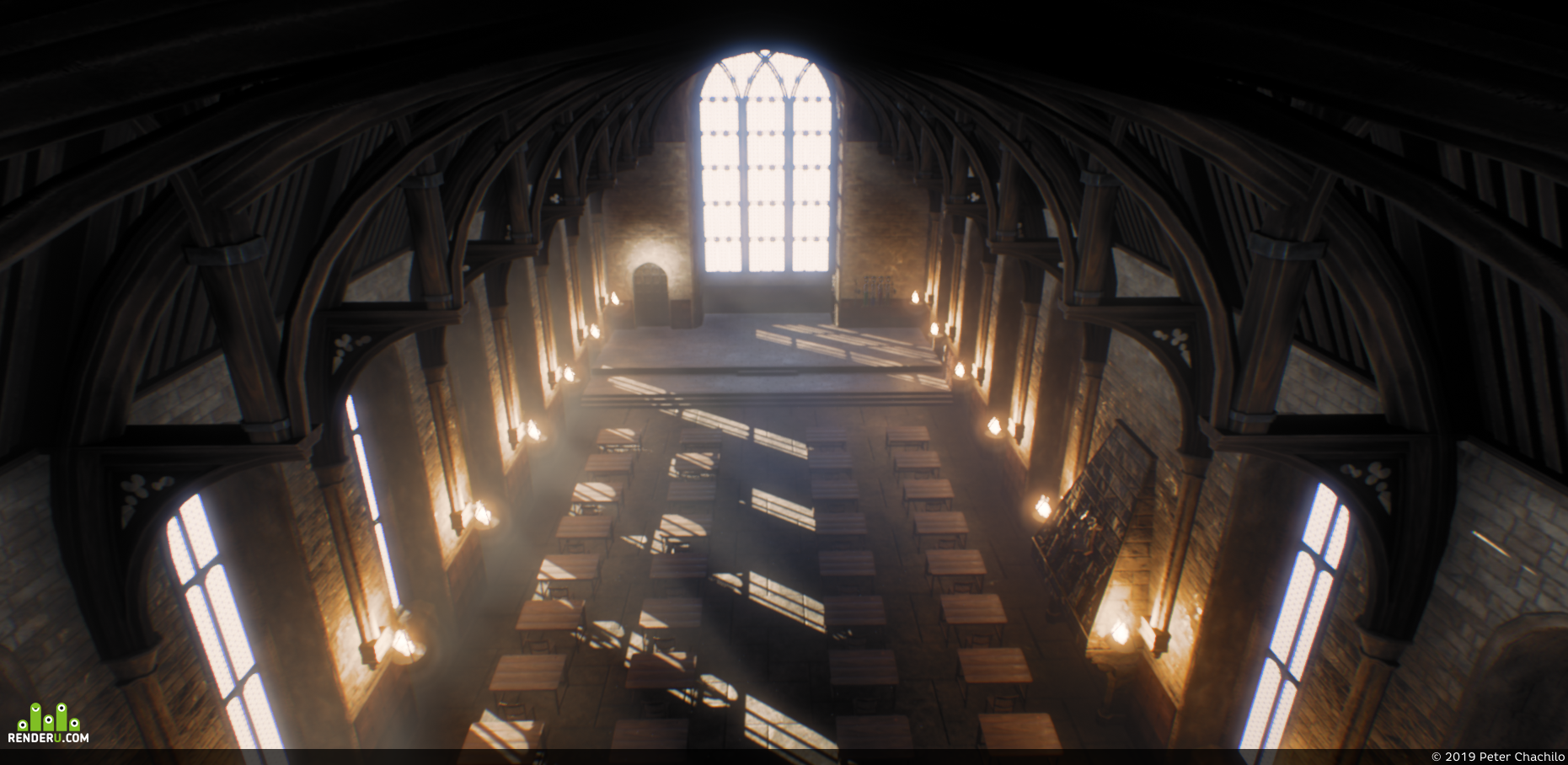 preview Hogwarts Great Hall (WIP)