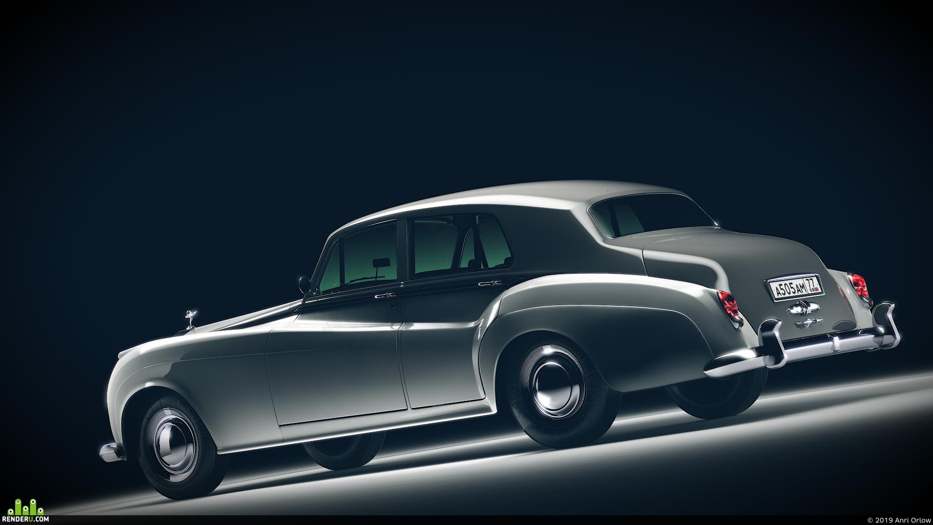 preview Rolls-Royce Silver Cloud II