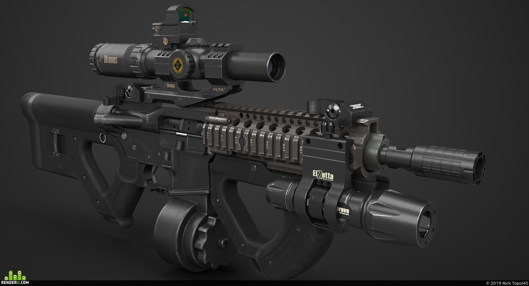 preview Карабин M4 с модификациями