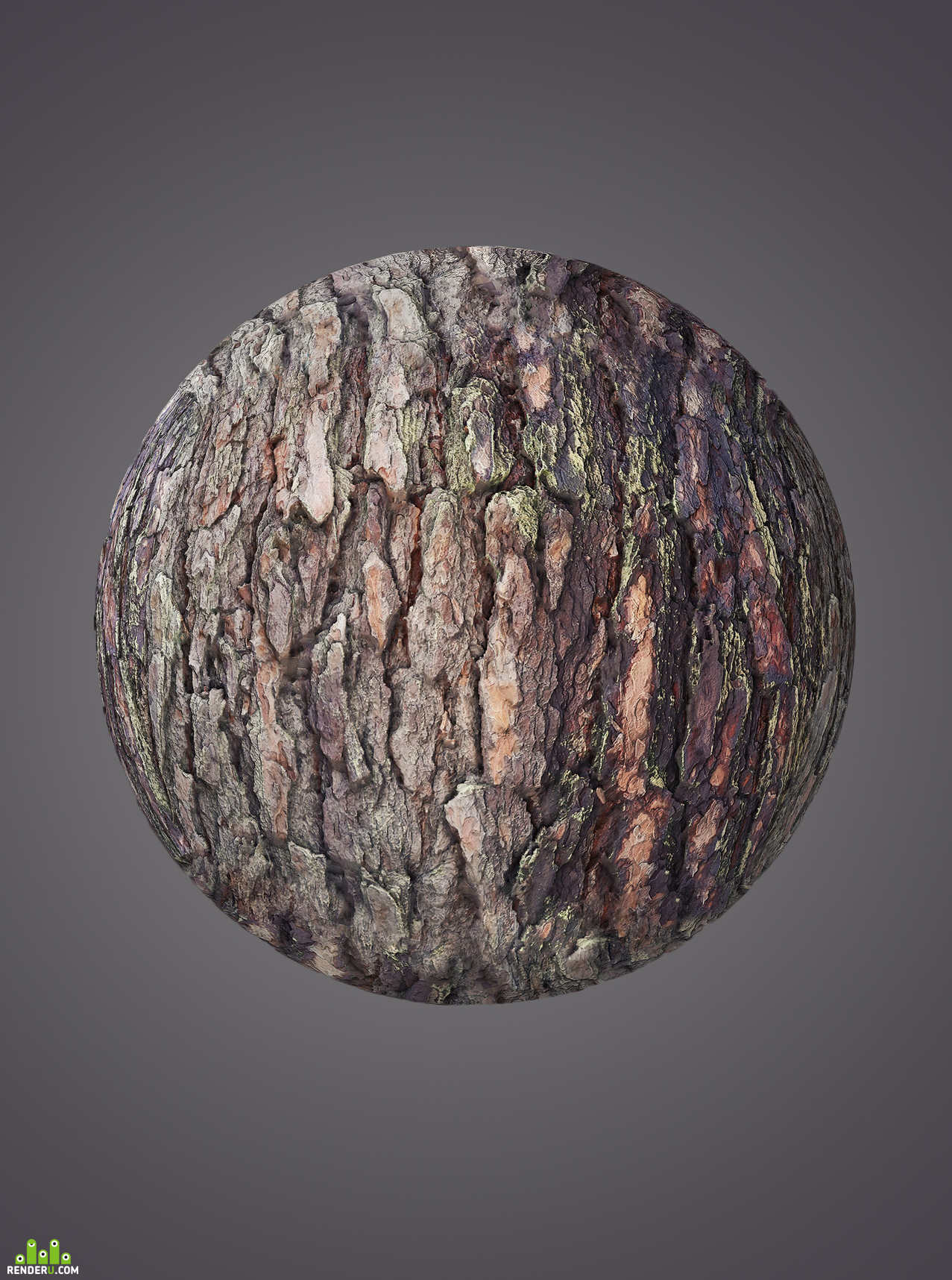 preview 3D Bark - Photogrammetry Scan