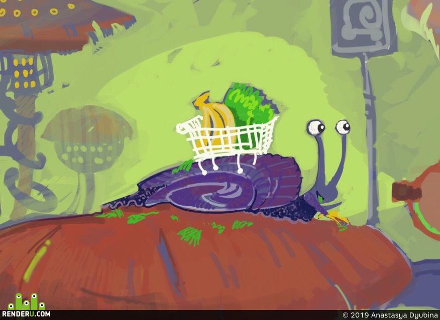 preview Скетч- зарисовка для разработки персонажа и сюжета комикса