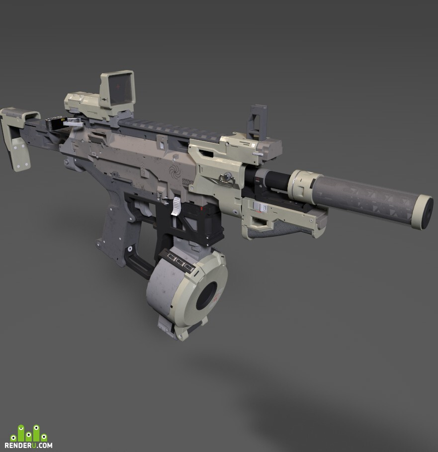 preview 3D Weapon