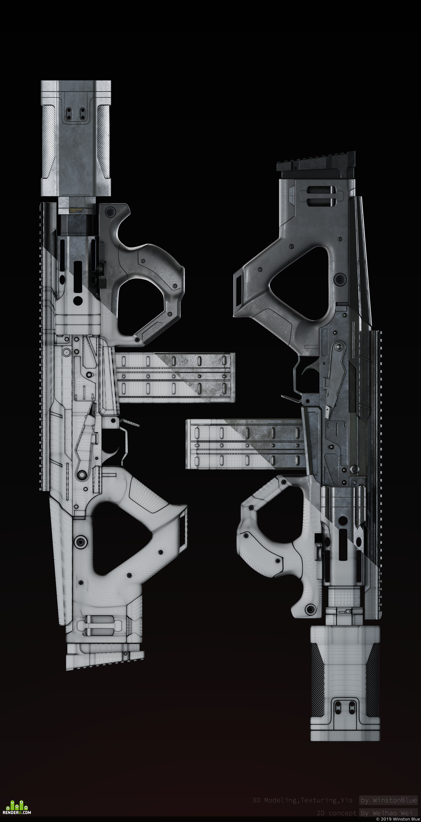 preview Kalashnikov MK2039 rifle