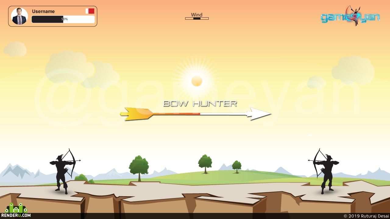 preview Bow Hunter - 2D аутсорсинг разработки мобильных игр от GameYan Film Production Company