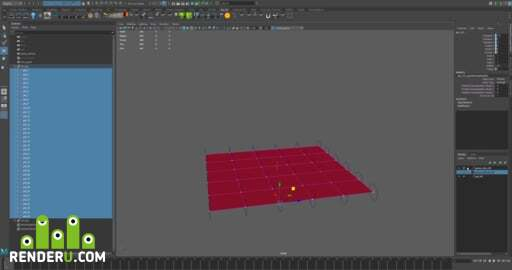 preview cloak or cloth snap [Python Maya script]