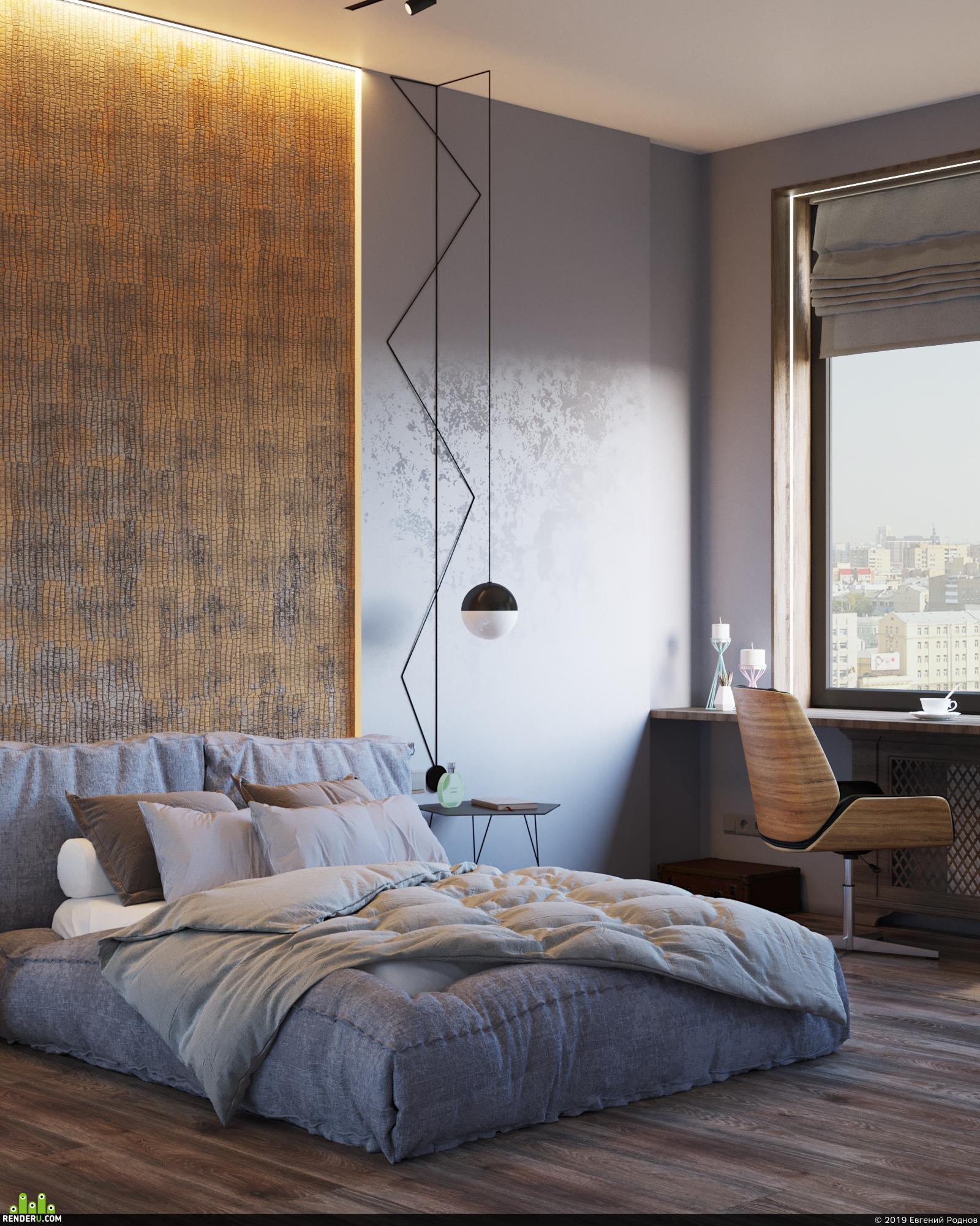preview Визуализация квартиры в ЖК Царская площадь, г. Москва