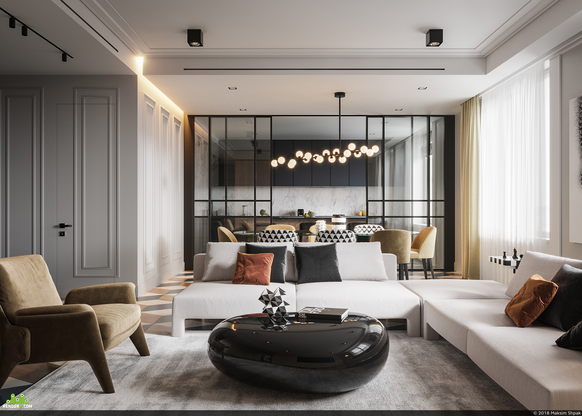 preview Modern Classic interior