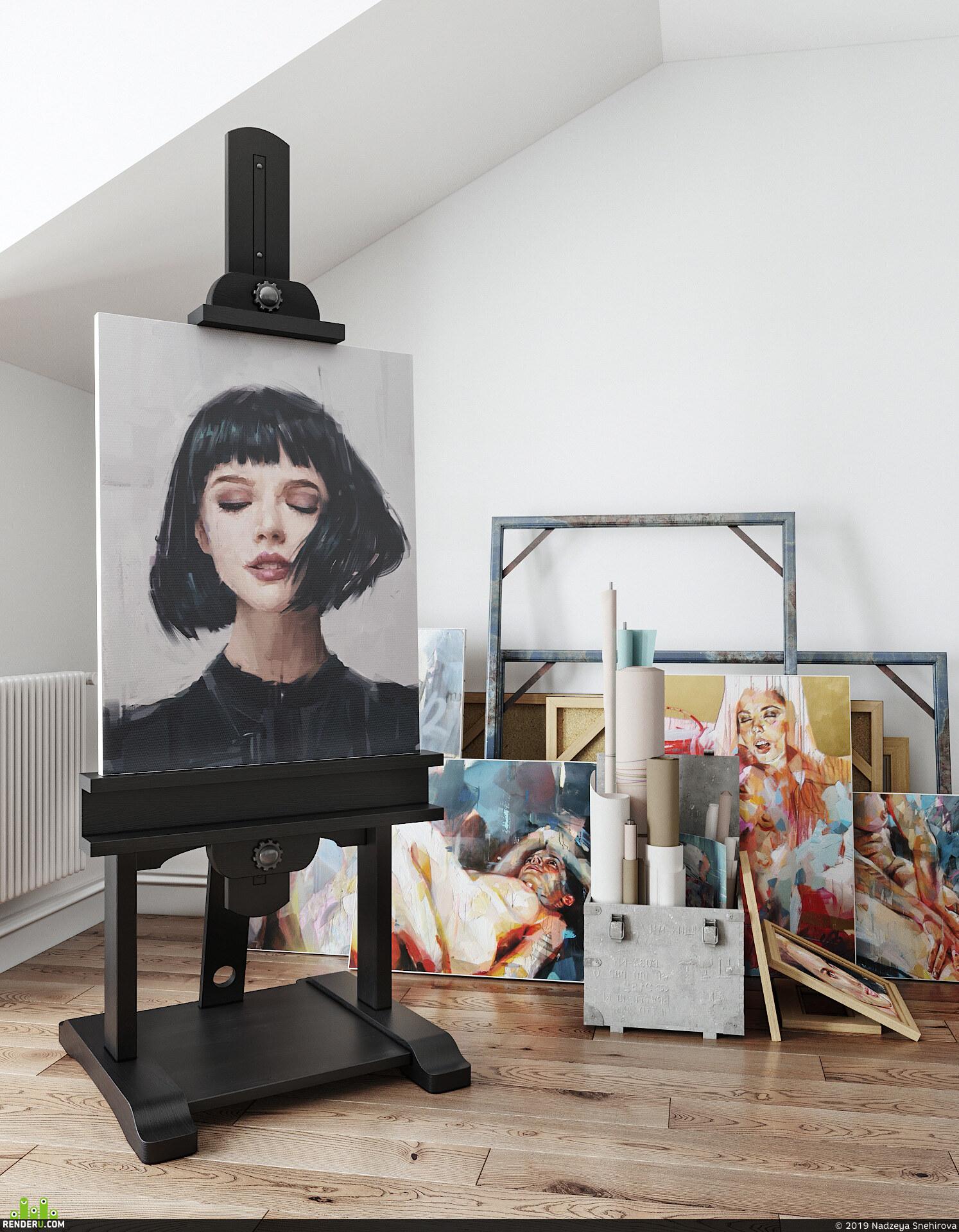 preview Scandinavian apartment