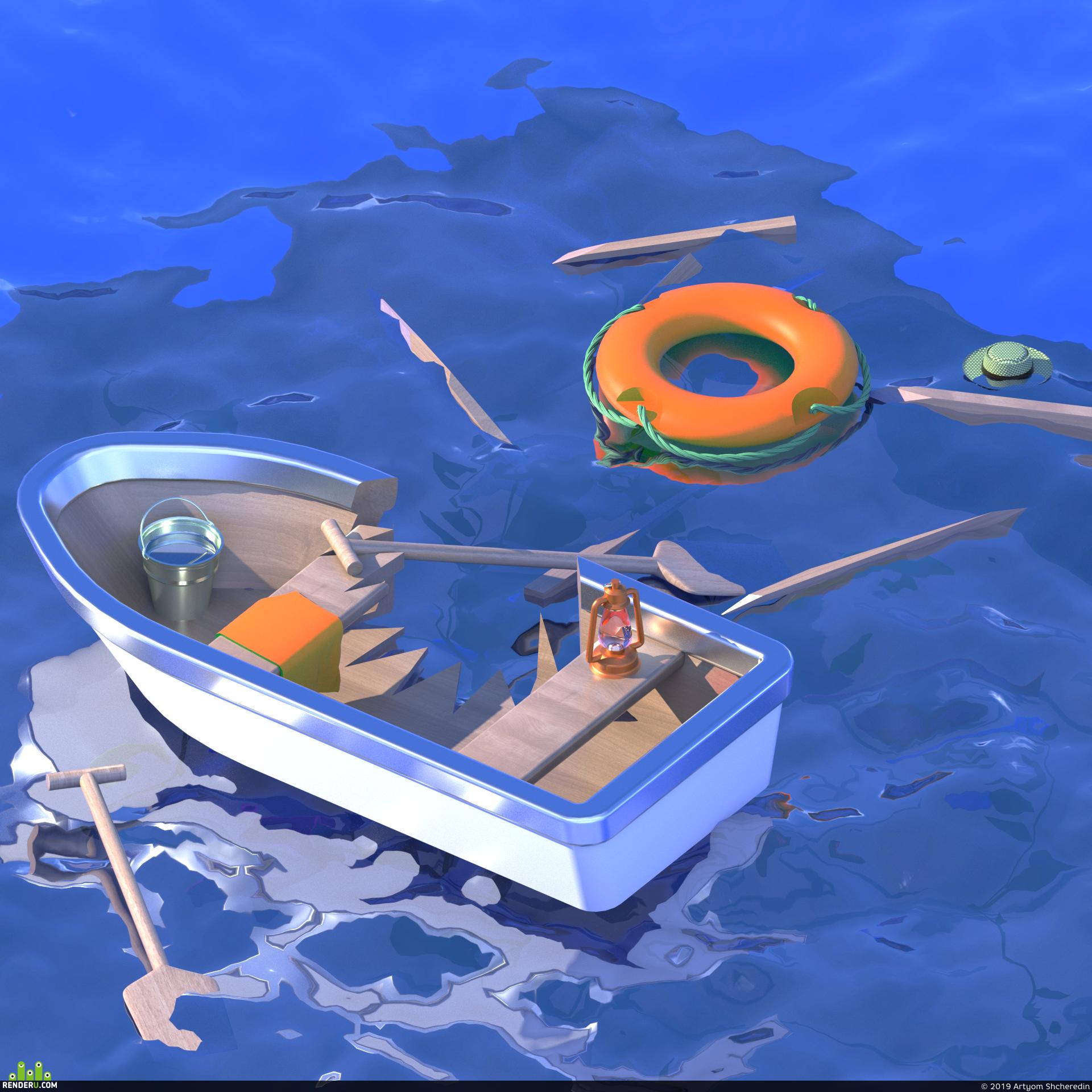 preview Изометрический океан