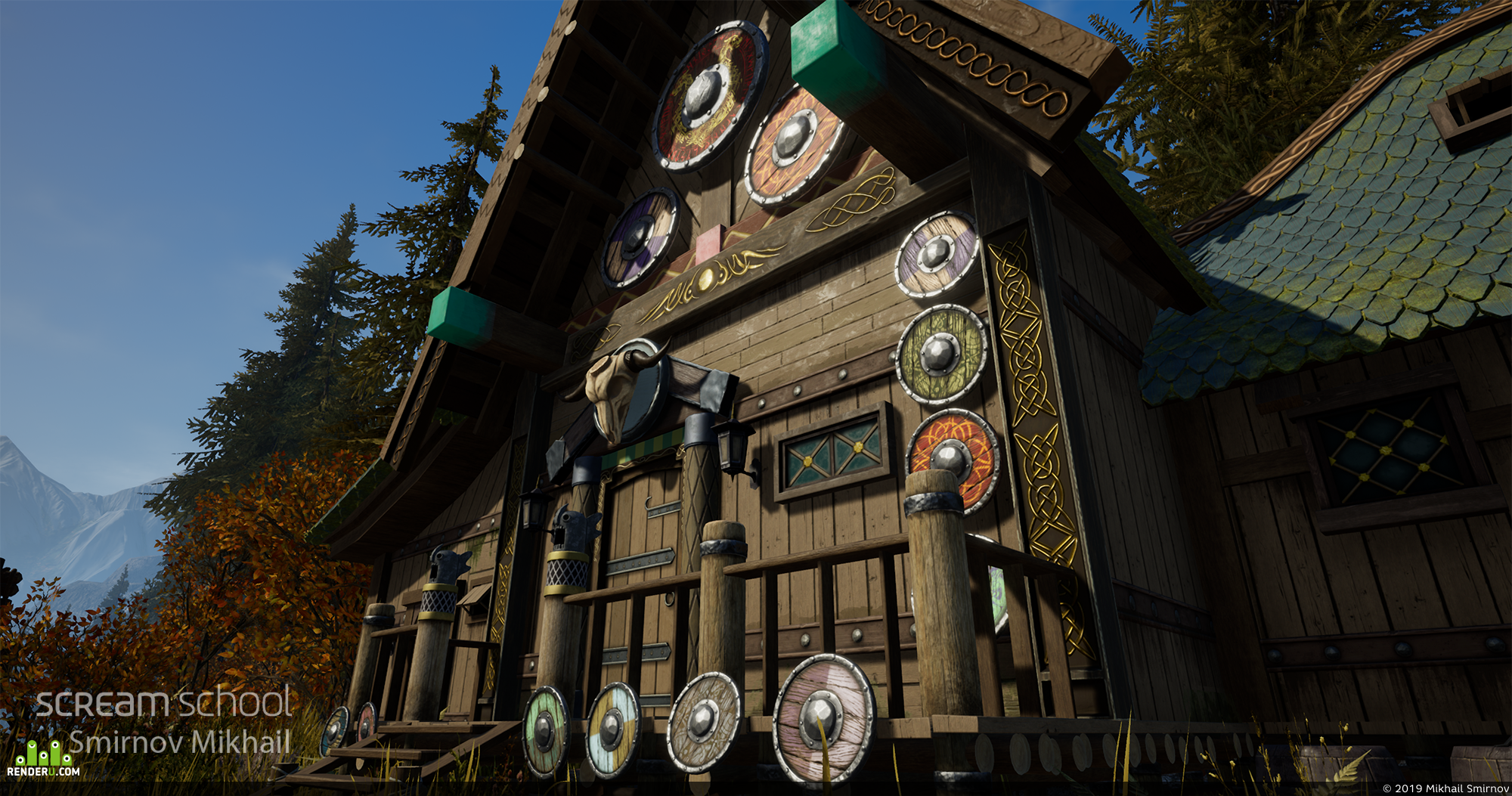 preview Viking's house