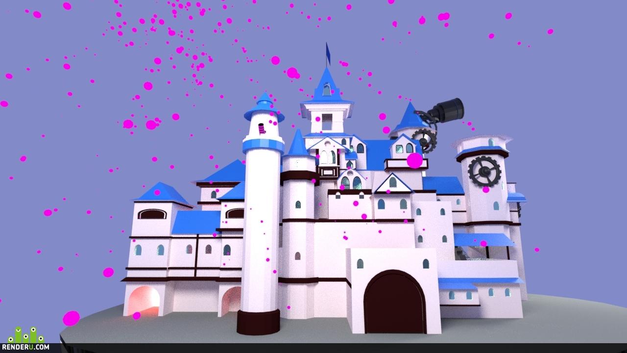 preview Замок на облаке