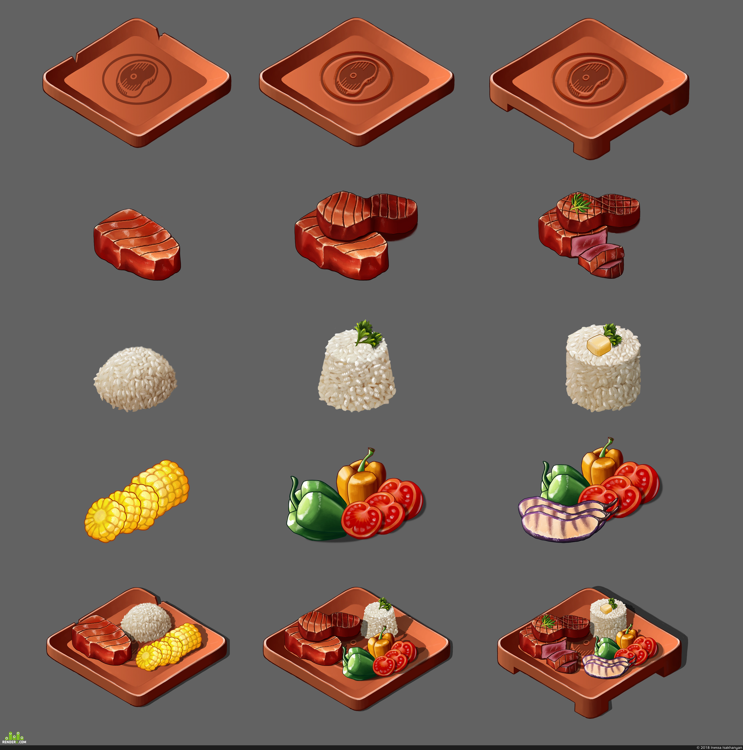 preview Food Assets