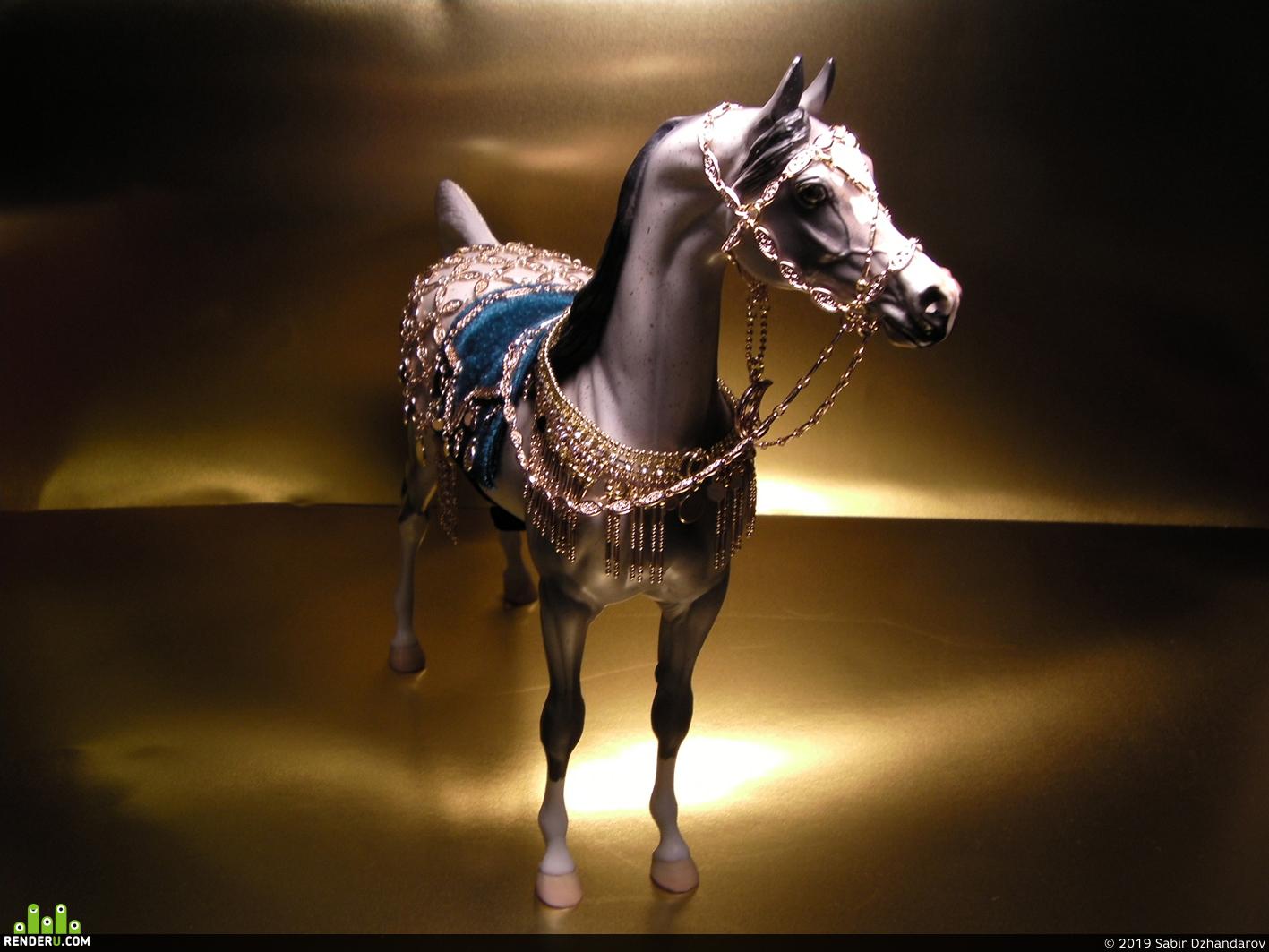 preview Парадная царская сбруя коней  Древнего Востока и Азии.