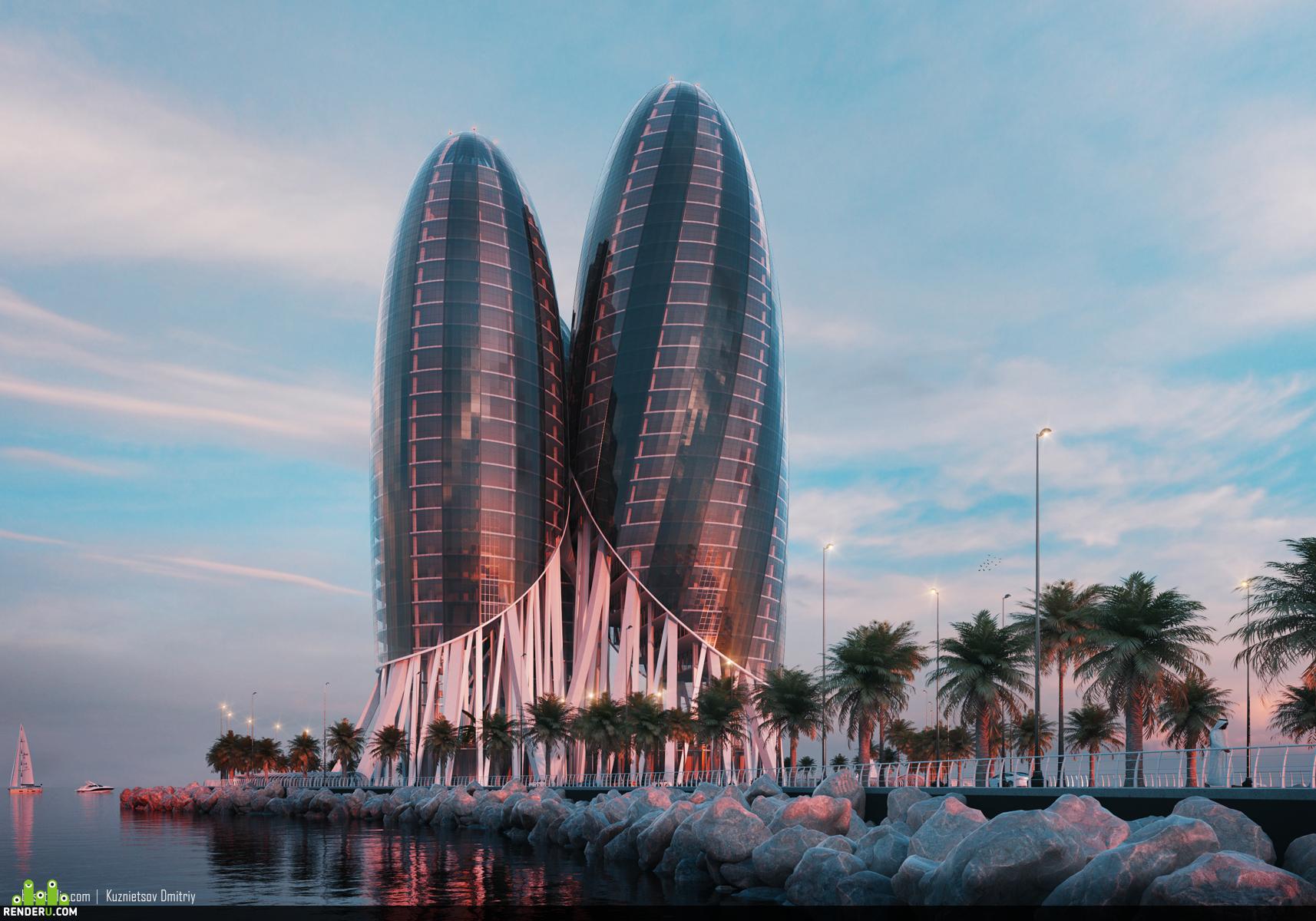 preview Hermit Tower.Dubai
