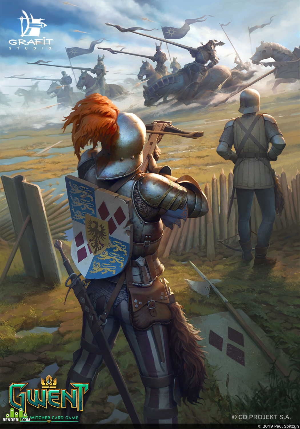 preview Lyrian Arbalest - Gwent Card