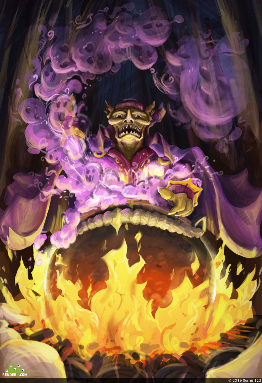 preview Goblin witchcraft