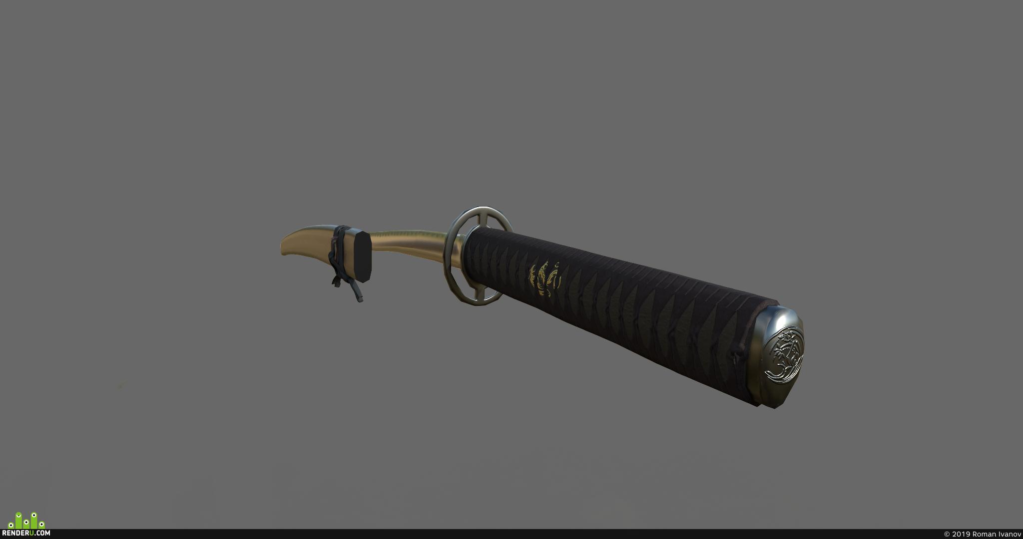 preview самурайский меч.катана