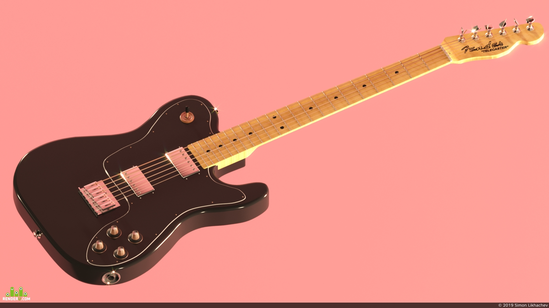 preview Fender Telecaster