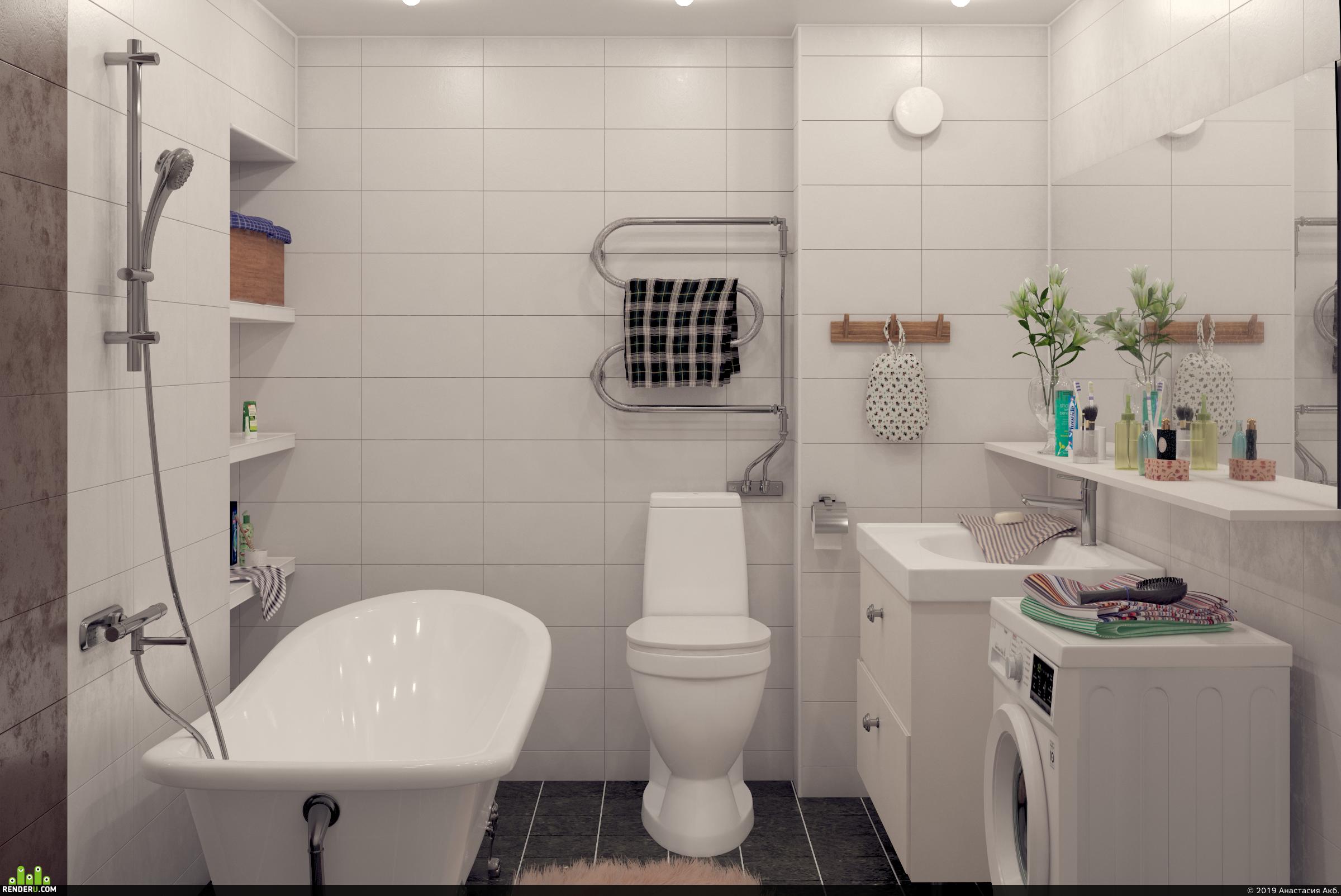 preview Интерьер ванной