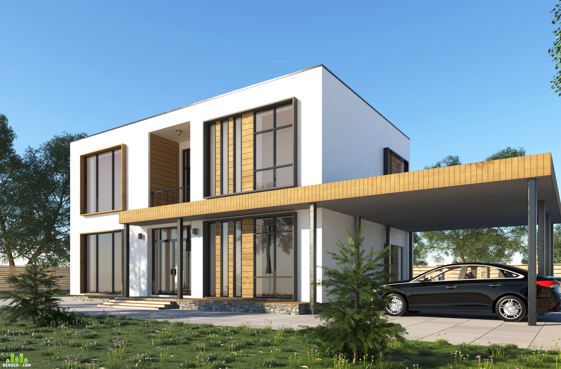preview Загородный дом близ города Алматы