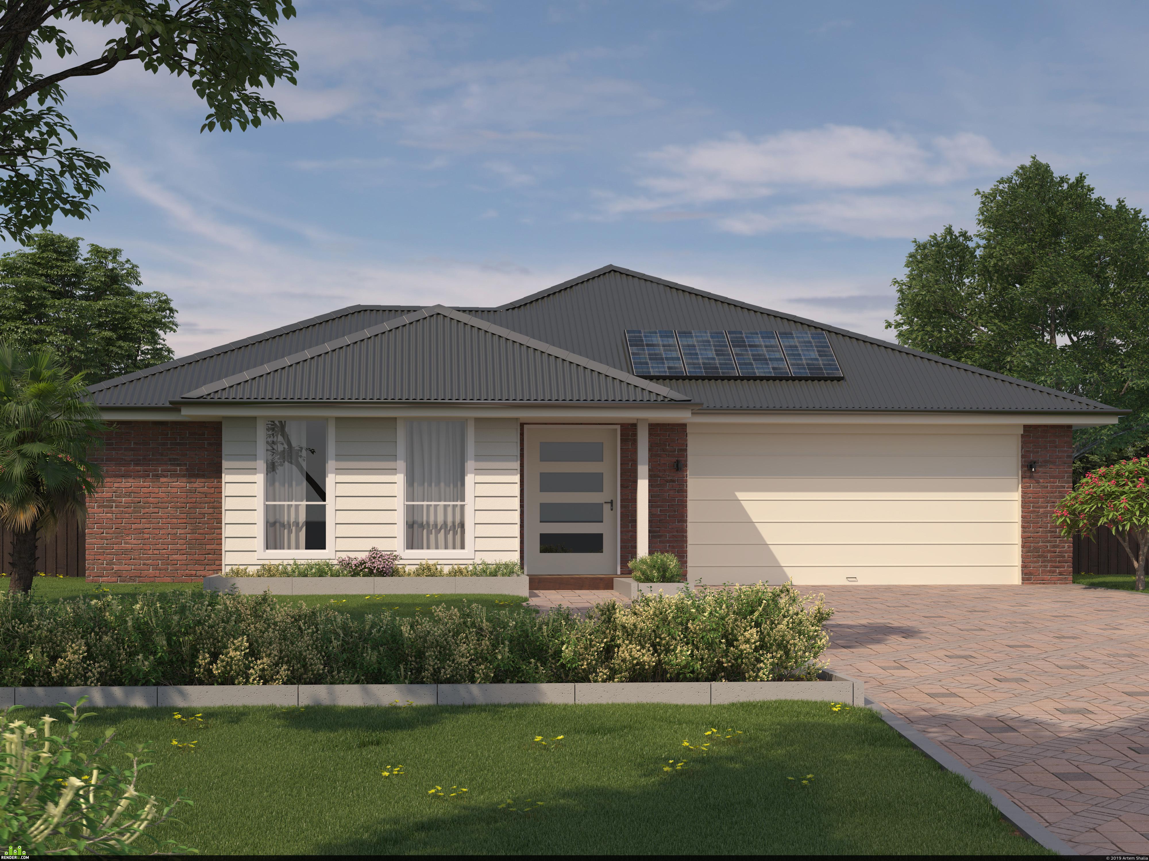 preview Coastal house in Australia