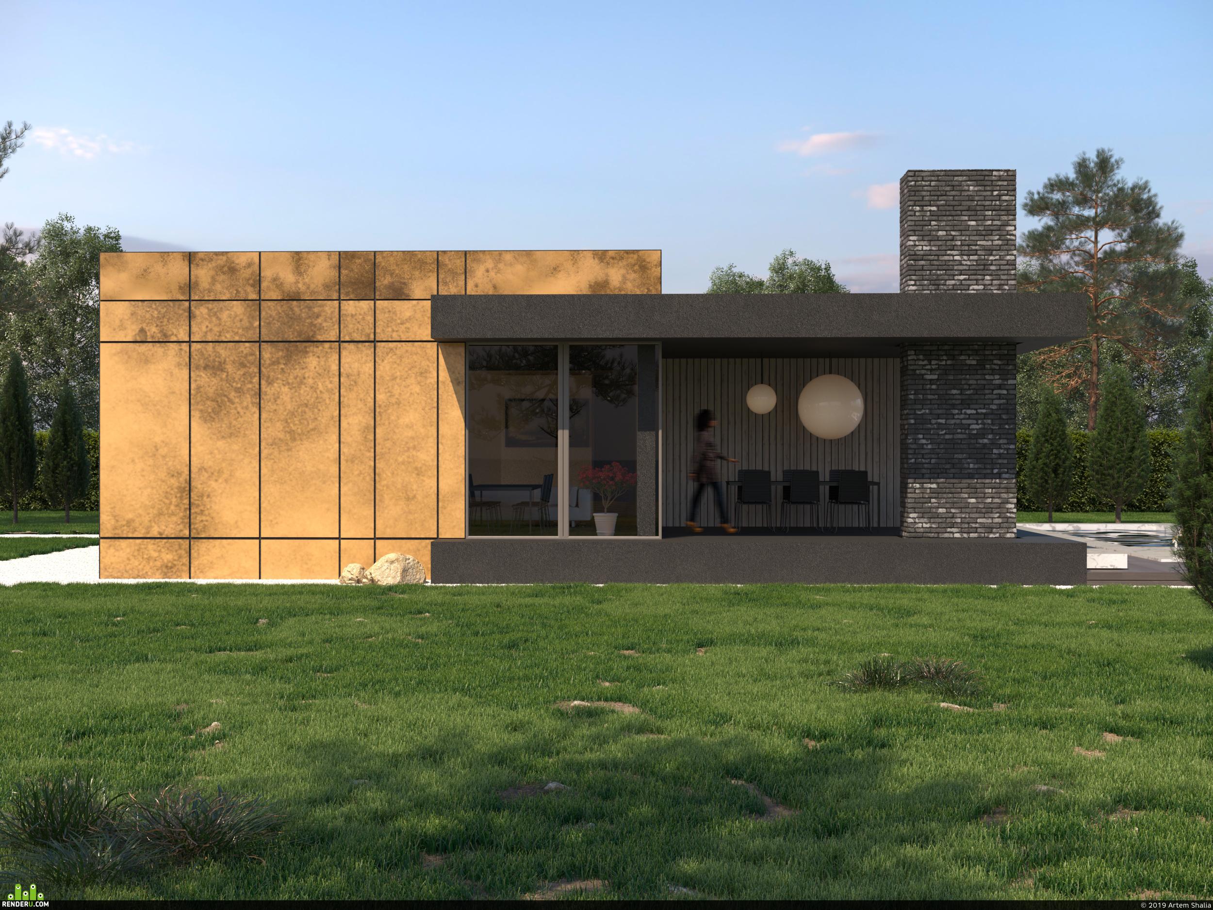 preview Contemporary villa
