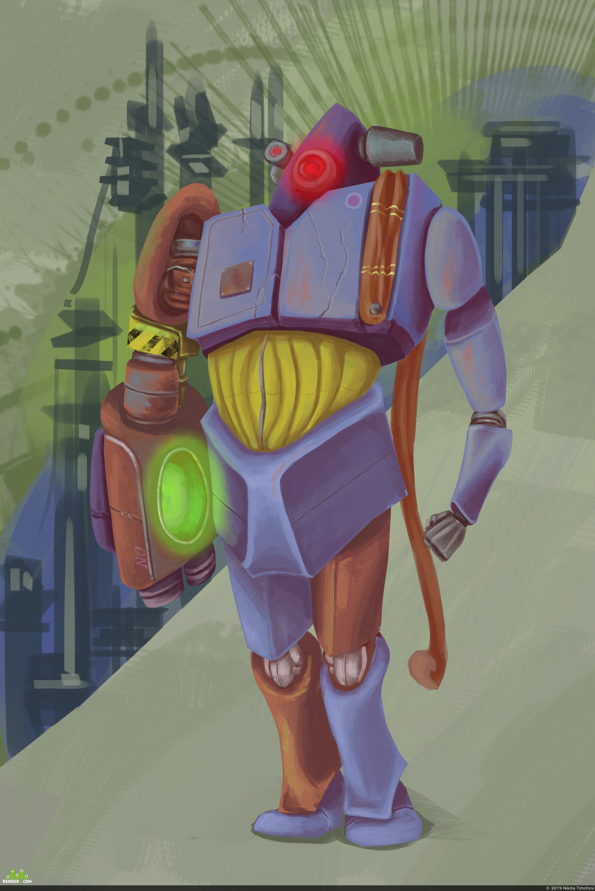 preview Robot Fedor