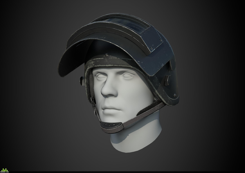 preview Боевой шлем