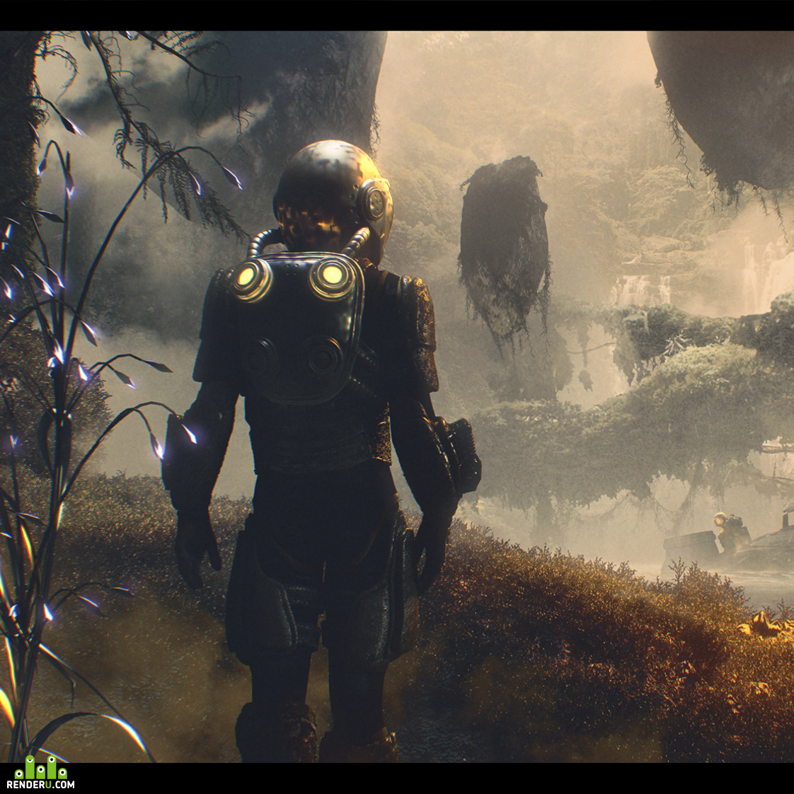 preview Arrival - sci-fi illustration