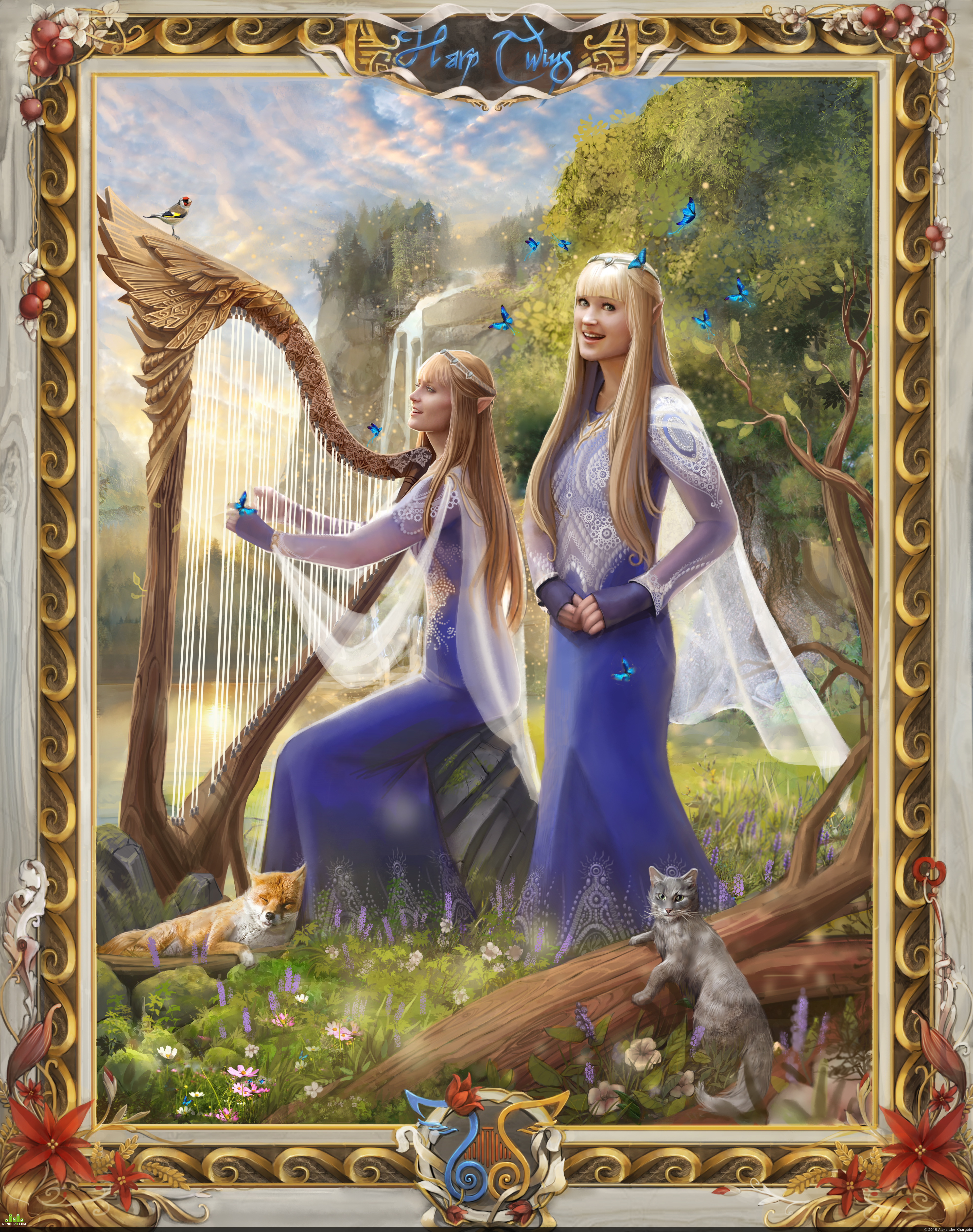 preview Harp Twins