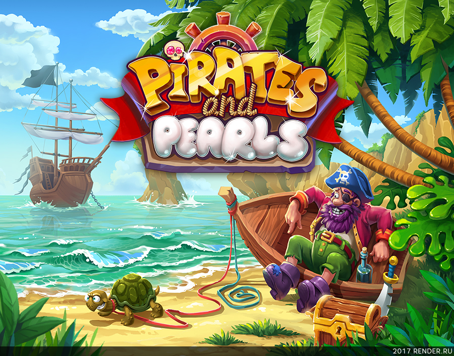 preview Pirates & Pearls®: A Treasure Matching Puzzle