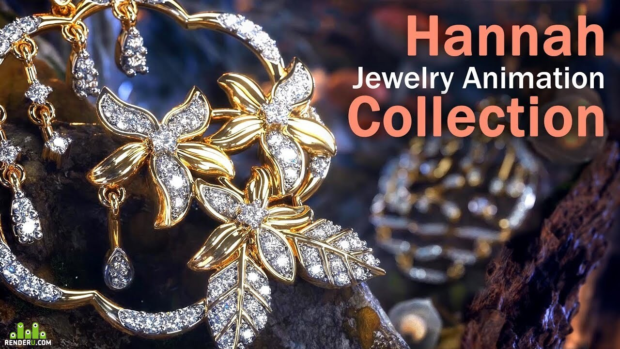 preview Hannah Collection Jewelry Animation