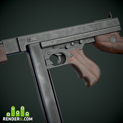 preview Thompson M1A1