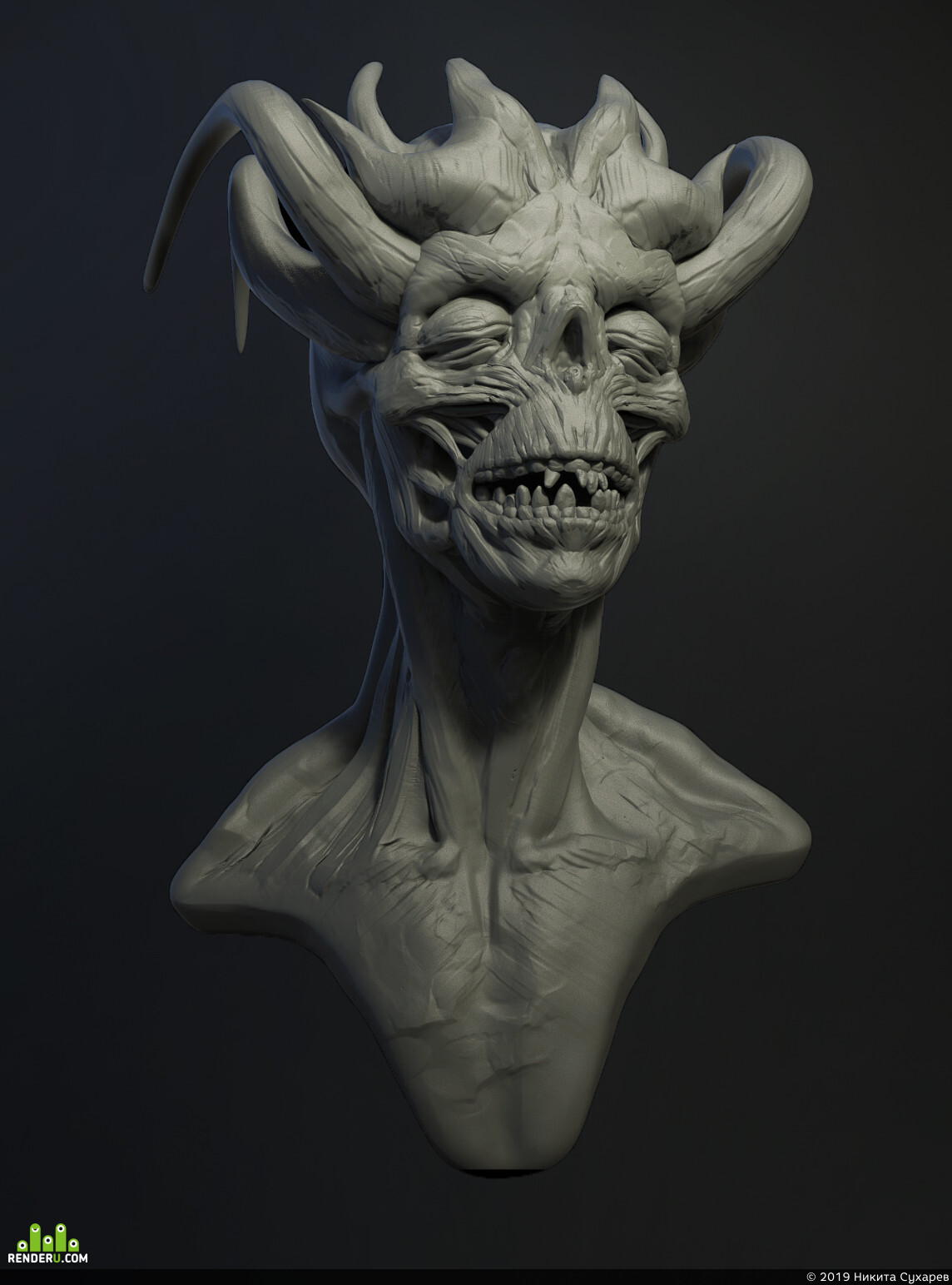 preview Skull head