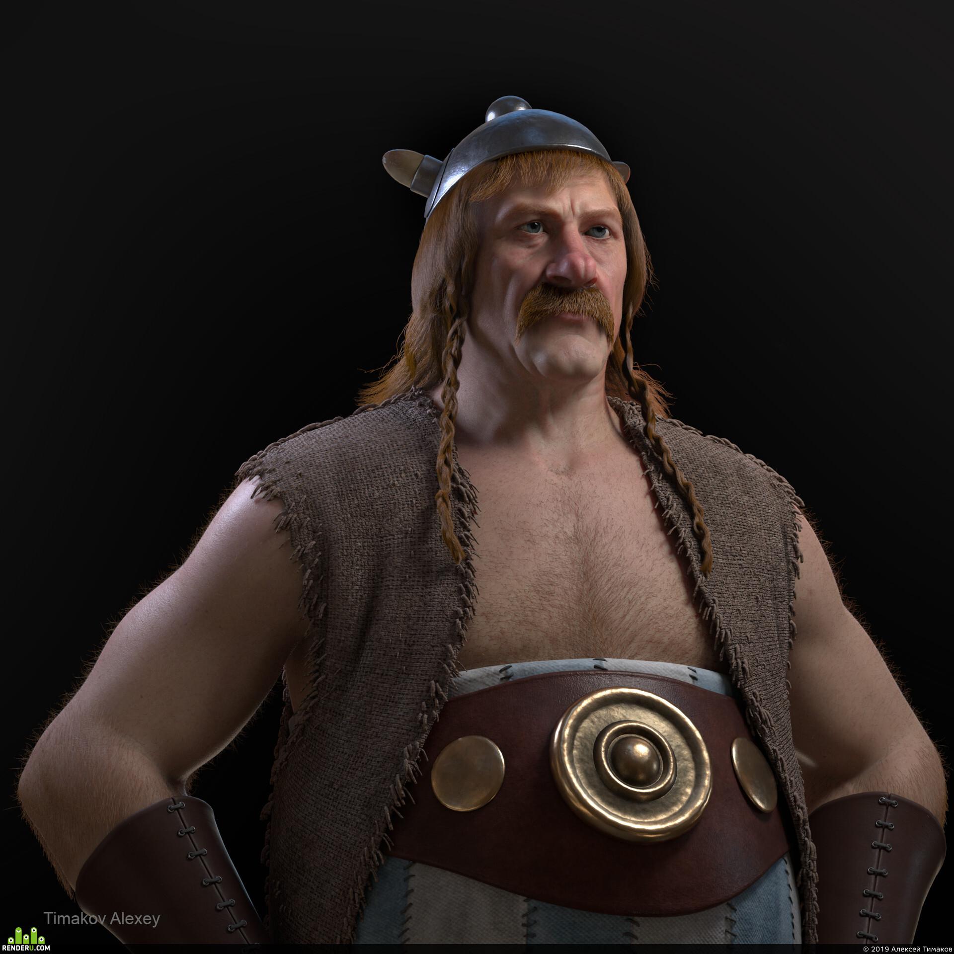 preview Обеликс, великий галльский воин
