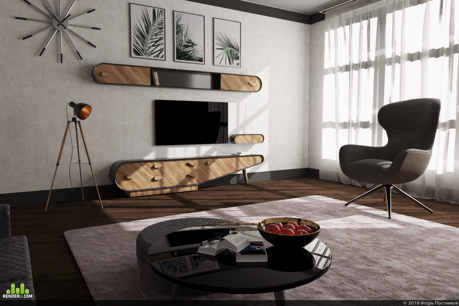 preview Гостиная / Living Room