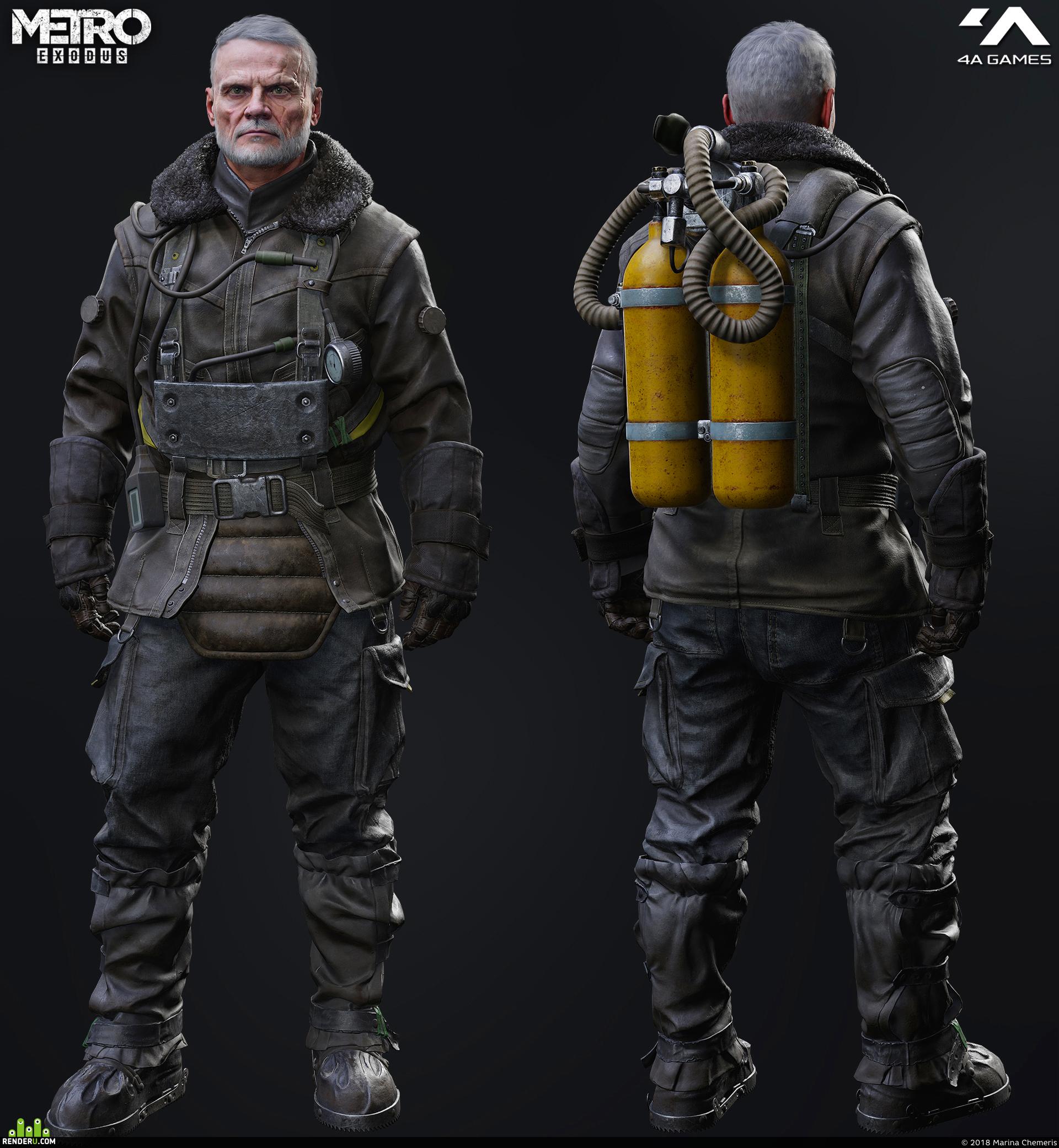 preview Miller Winter Suit- Metro Exodus