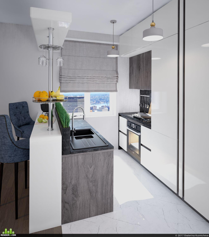 preview Интерьер кухни-гостиной