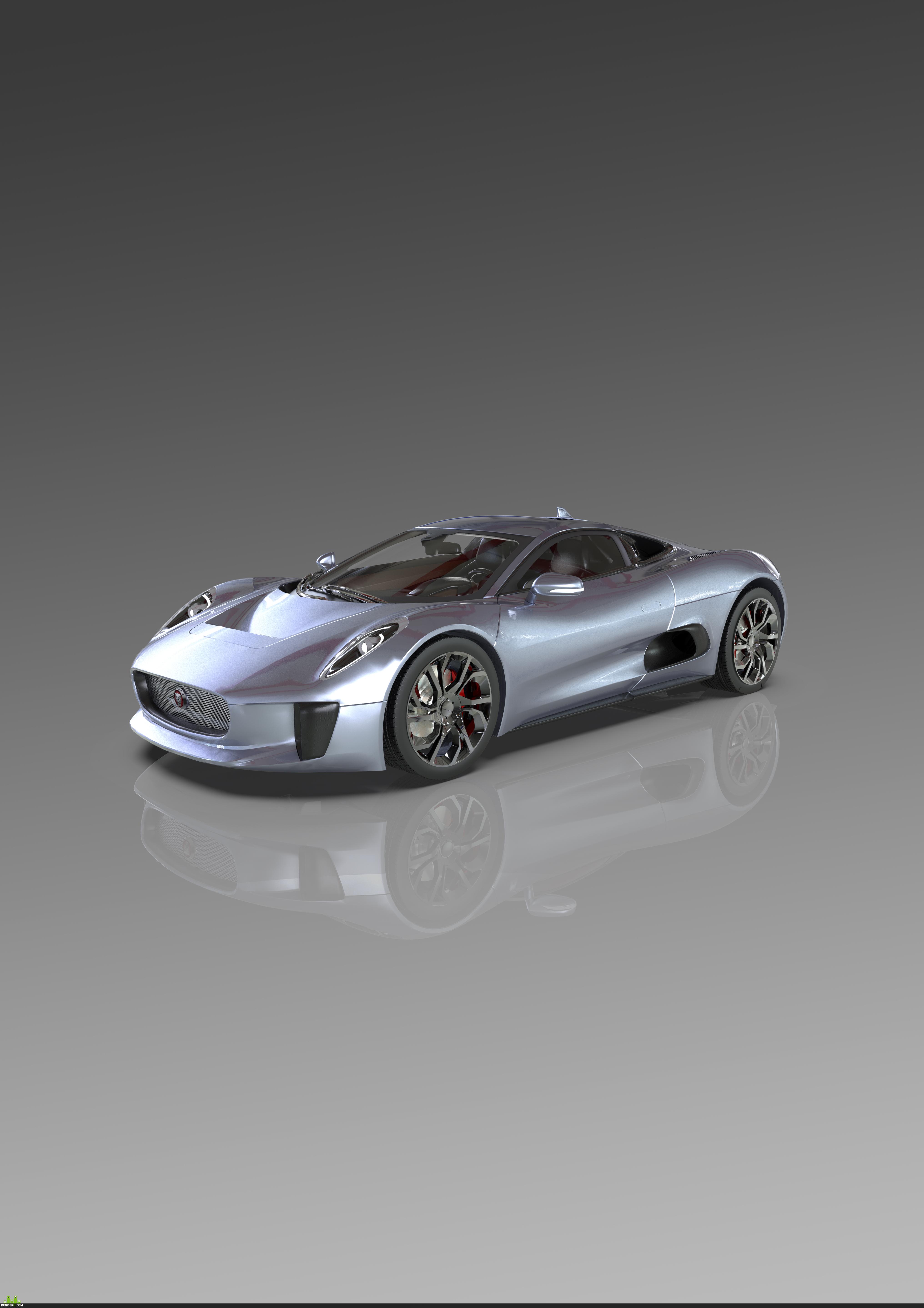 preview Jaguar C-X75