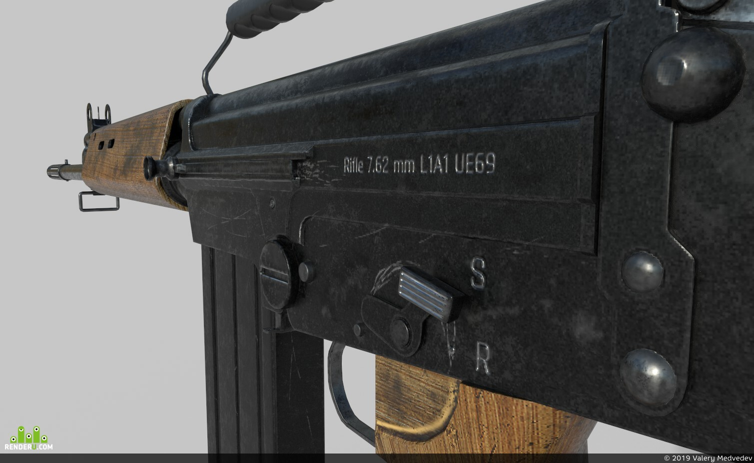 preview L1A1 - Fn fal