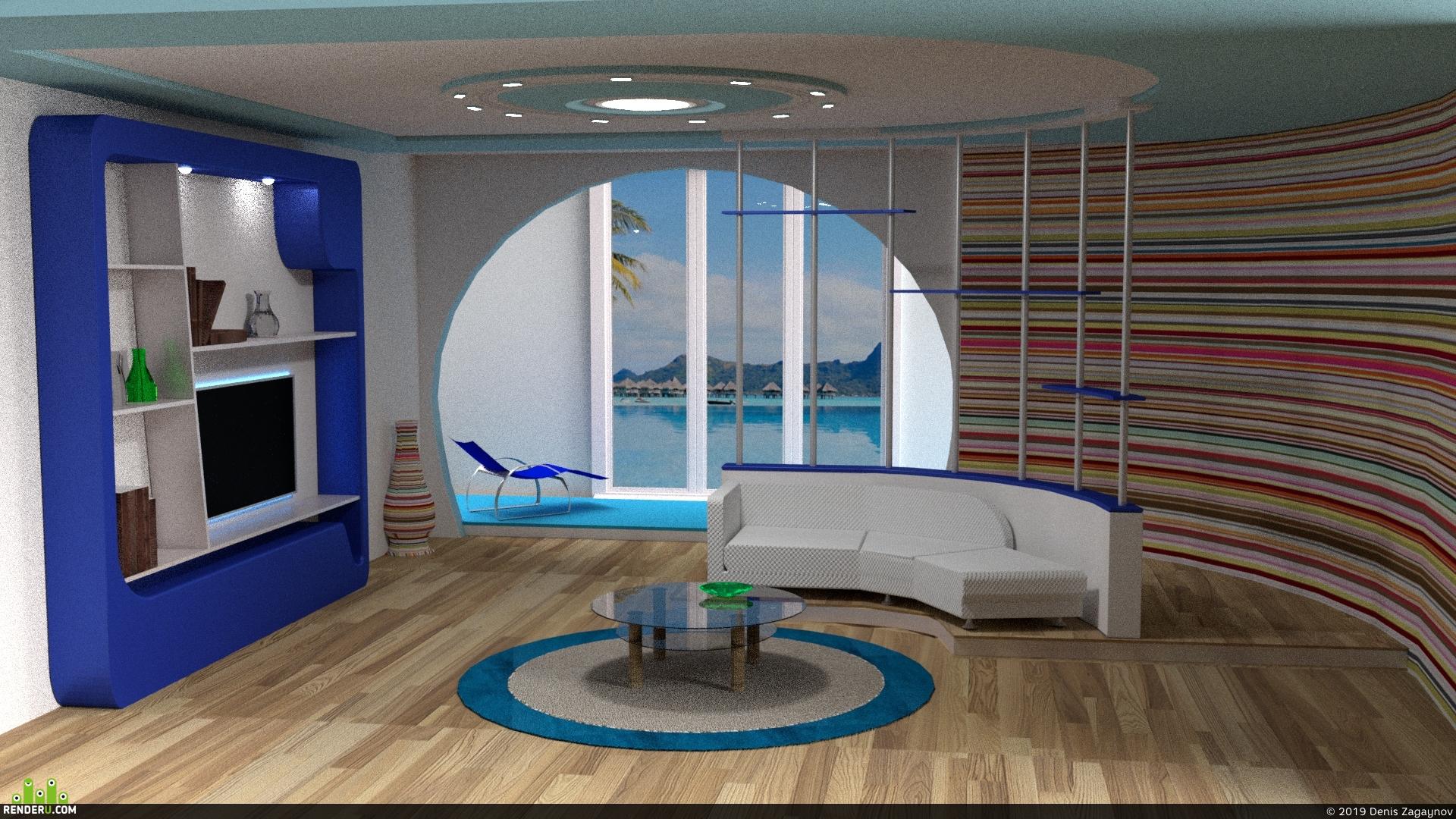 preview Комната у моря